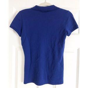 Lacoste Tops - Lacoste women's blue polo shirt - US 2 (EUC)